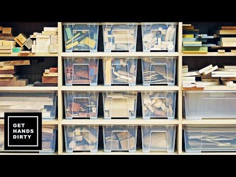 Wood Storage Wall: The Shelf - Ep.3
