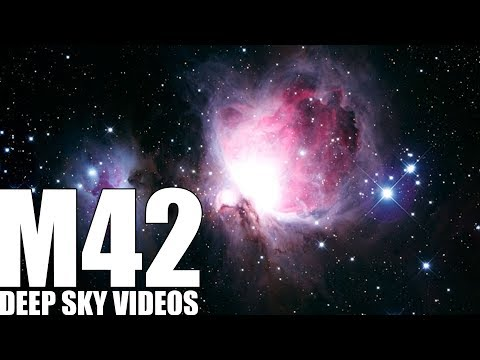 Orion-Nebel (M42) - Deep Sky Videos