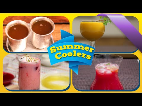 Summer Coolers | Quick Easy To Make Homemade Drinks | Chilled Refreshing Summer Recipes