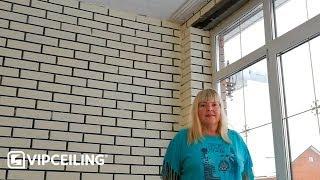 Бесшовный потолок 10 м<sup>2</sup>