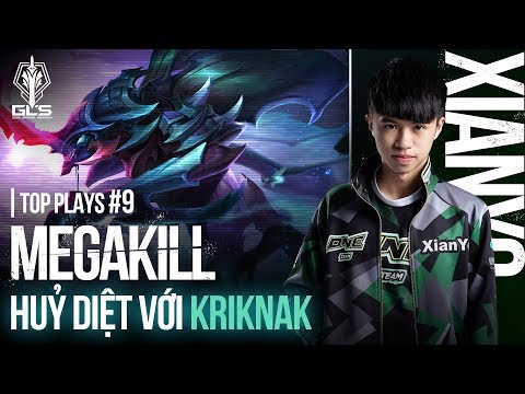 TOP PLAYS GCS #8: MEGA KILL hủy diệt với Kriknak! - Garena Liên Quân Mobile - Thời lượng: 3:25.