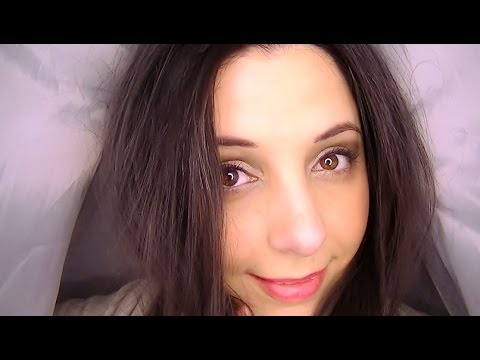 ASMR Binaural Ear to Ear Whispering And Ear Massage In A Blanket Fort Of Facts
