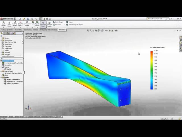 SOLIDWORKS Simulation (FEA)