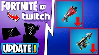 *NEW* Fortnite 11.20 Update! | PATCH NOTES, Free Twitch Rewards, Shotgun Nerf!