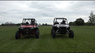6. Polaris RZR XP1000 vs XP900, multiple camera angles!  PowerModz!