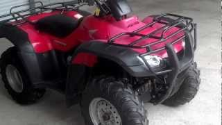 8. Used 2006 Honda TRX350FE Rancher ES 4x4 ATV For Sale at Honda of Chattanooga TN