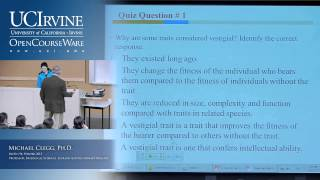 BioSci 94: Organisms To Ecosystems. Lec. 3. Evolutionary Processes