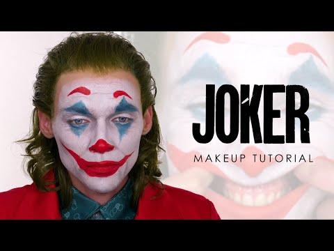 The Joker Halloween Makeup - Joaquin Phoenix