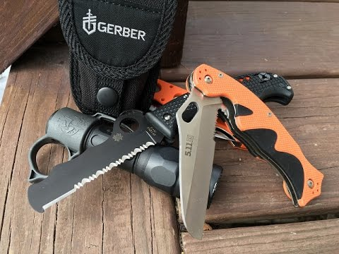 EDC Rescue Knives: Everyday Carry Series, Part 3 | Spyderco, Benchmade, Boker, 5.11