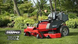 8. Snapper 360Z Zero Turn Mower