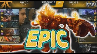 [EPIC] Caps Play Wukong (Full Damage Build) - FNC VS SPY Highlights - 2018 EU LCS Summer W8D2