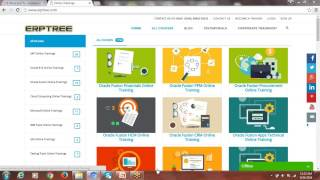 Image of Oracle Fusion Financials Demo by Laxman at ERPTREE.COM - Buy Self Paced Videos video