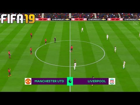FIFA 19 | Manchester United vs Liverpool - Premier League 2019/20 Season - Full Match & Gameplay