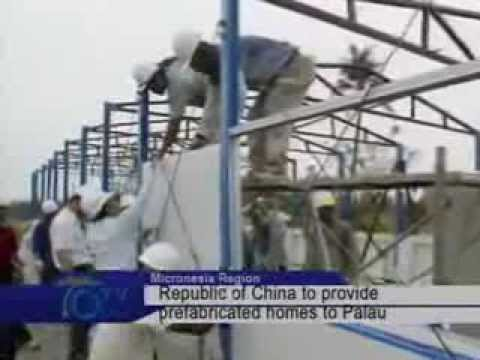 Republic Of China To Provide Prefabricated Homes To Palau
