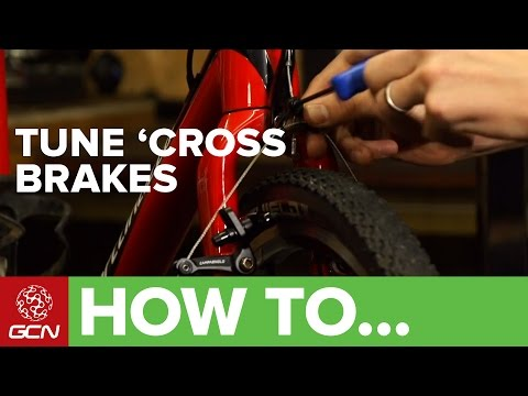 fine - Cantilever Brakes are still used on many cyclocross bikes and can be tuned to work really effectively. Here's how. Follow GCN on YouTube: http://gcn.eu/SubscribeToGCN Getting the most out...