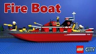 Download Lagu LEGO City Fireboat 7906 Mp3