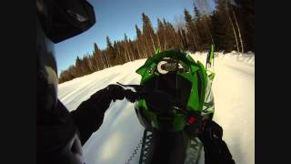 8. Arctic Cat 2014 ZR 8000 RR  wheelie test
