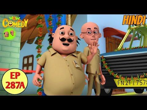 Motu Patlu | Cartoon in Hindi | 3D Animated Cartoon Series for Kids | Motu Patlu Taxi Service