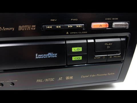 It's 2015 - Time To Buy My First Laserdisc Player