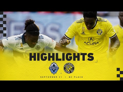 Video: HIGHLIGHTS: Columbus Crew SC at Vancouver Whitecaps FC - Sept. 21, 2019