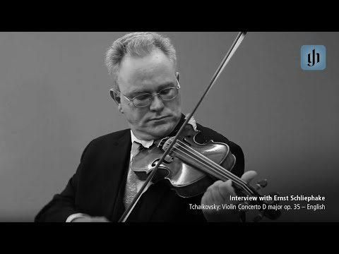Video - Tchaikovsky, PI - Violin Concerto in D Major, Op 35 - Violin and Piano - edited by Guntner - Henle | 1452 114
