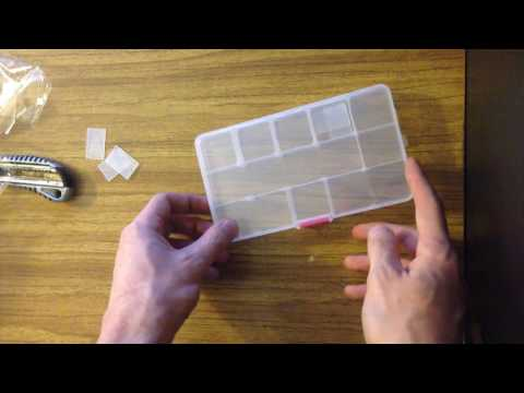 Пластиковая коробочка для мелочёвки из магазина Banggood