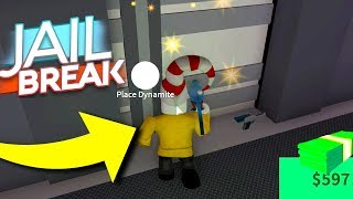 ROBBING THE NEW BANK VAULT *NEW JAILBREAK UPDATE*