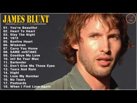 James Blunt Greatest  Hits Full Album 2020