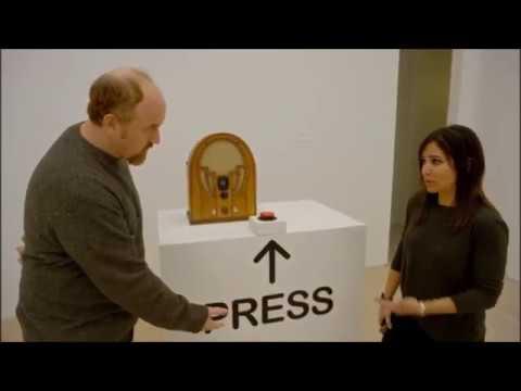 Louie, press the button!