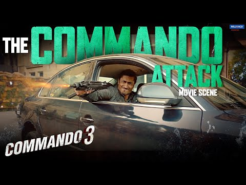 Commando 3 | The Commando Attack | Movie Scene | Vidyut Jammwal, Adah Sharma, Angira Dhar, Gulshan