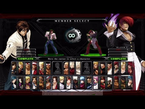 The King of Fighters XIII All Characters (Including DLC) [PS3]