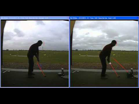 Golf Lesson at Ingrebourne Links – Low hands at impact