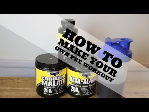 How to Make Your Own Pre-Workout