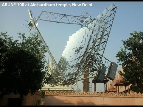 ARUN Solar Boiler with Thermal Storage