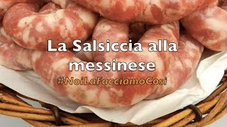 Salsiccia alla messinese