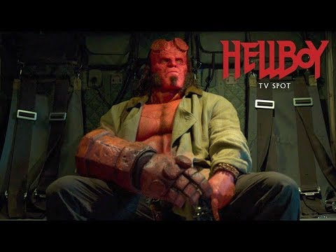 "Hellboy - Official TV Spot ""Never Fear""?>"