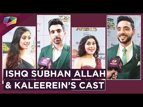 Ishq Subhan Allah And Kaleerein's Cast Have A Ch