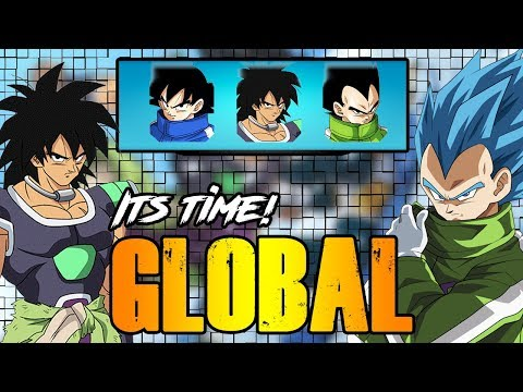 ITS TIME GLOBAL! NEW UNITS COMING THIS WEEK! | BROLY MOVIE CELEBRATION | DRAGON BALL Z DOKKAN BATTLE