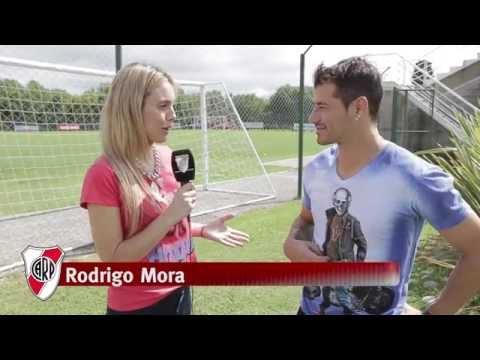 Rodrigo Mora, en la previa de River vs. Tigres