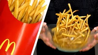 I Tried To Re-Create McDonald's Famous French Fries | Food Challenge