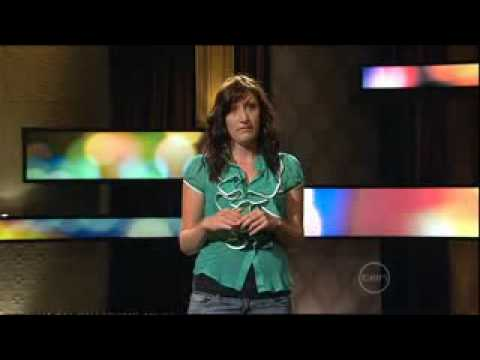 Celia Pacquola stand up on Rove