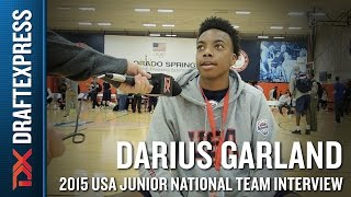Darius Garland 2015 USA Basketball Mini-Camp Interview
