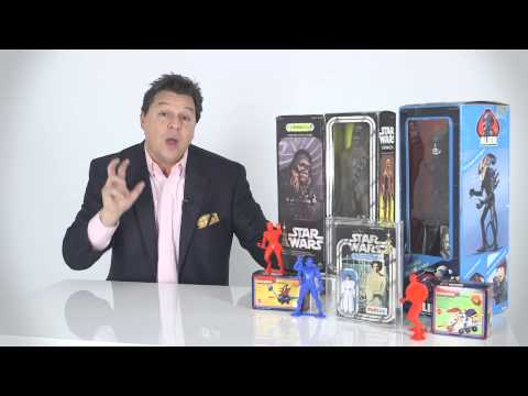 Making money from buying and selling Star Wars toys