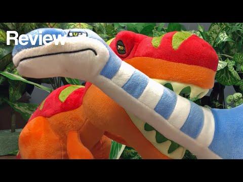 Jungle Plush T-Rex & Apatosaurus Jurassic Plushie Review