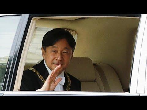 Japan: Kaiser Naruhito - neu auf dem Chrysanthementhro ...