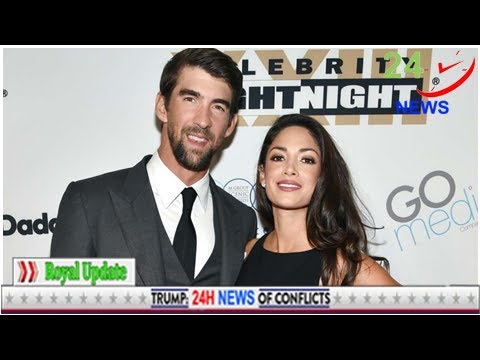 Michael Phelps and his wife Nicole Welcome figure 2--find the name new son!