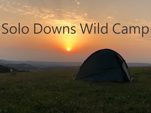 Sussex Downs Way Wild Camping with the Wild Country Helm 2 man tent #6
