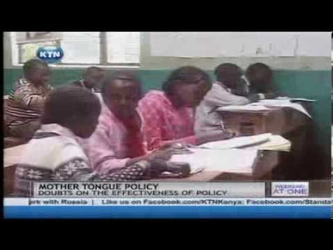 Using Mother Tongue in Kenya