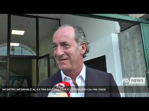 INCONTRO INFORMALE AL K3 TRA GOVERNATORE E CONSIGLIERI | 24/09/2020