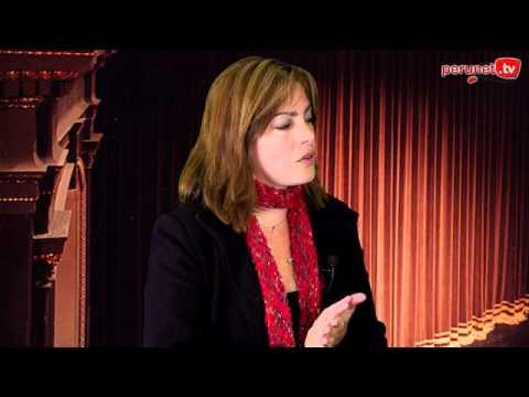 elvira castro - POR AMOR AL ARTE con Karla Poggi 067. Elvira Castro y su próxima producción. En http://perunet.tv/